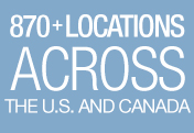 830+ Locations Across the US and Canada